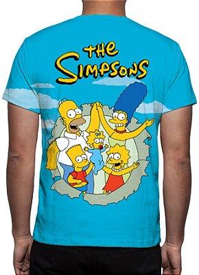 SIMPSONS, OS - Família Simpson - Camiseta de Desenhos