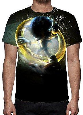 SONIC O FILME - Preta - Camiseta de Cinema