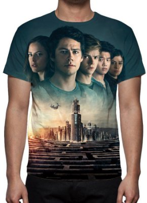 MAZE RUNNER - A Cura Mortal - Camiseta de Cinema