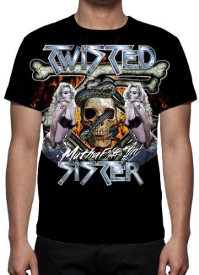 TWISTED SISTER - Camiseta de Rock