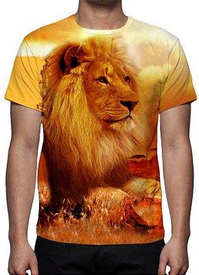 RELIGIOSOS - Leão de Judá - Camisetas Variadas