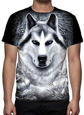 ANIMAIS - Lobo Branco - Camisetas Variadas