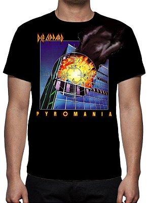 DEF LEPPARD -  Pyromania - Camiseta de Rock