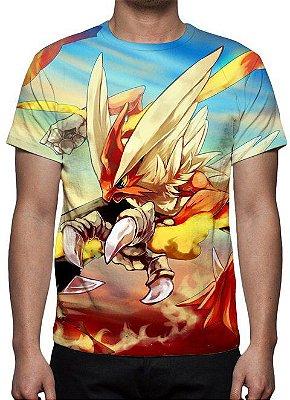 POKÉMON - Blaziken - Camiseta de Animes