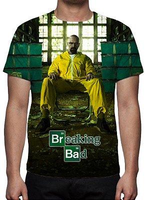 BREAKING BAD - Laboratório - Camiseta de Séries
