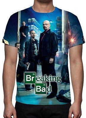 BREAKING BAD - Famílias - Camiseta de Séries