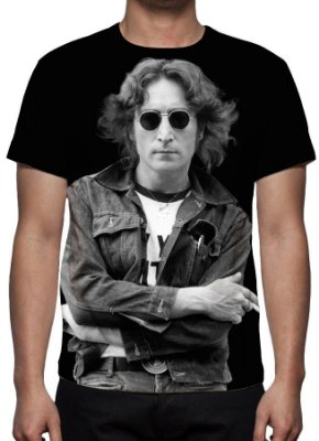 BEATLES - Jonh Lennon - Camiseta de Séries