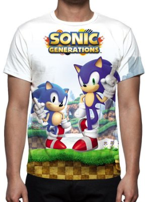 SONIC - Generations - Camiseta de Games