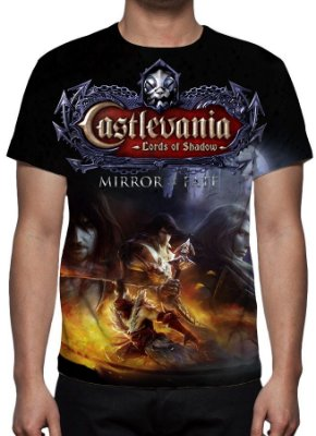 CASTLEVANIA - Lords of Shadow Mirror of Fate - Camiseta de Games