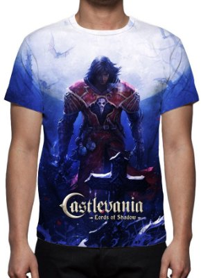 CASTLEVANIA - Lords of Shadow - Camiseta de Games