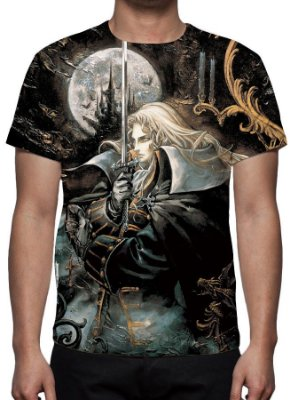 CASTLEVANIA - Symphony of the Night - Camiseta de Games