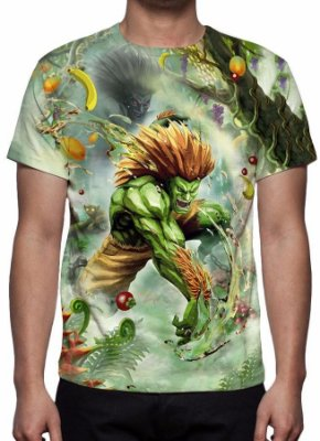 STREET FIGHTER 4 - Blanka - Camisetas de Games