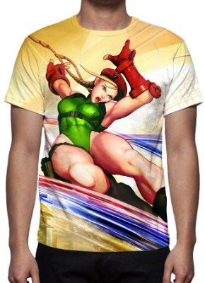 STREET FIGHTER 5 - Cammy - Camisetas de Games