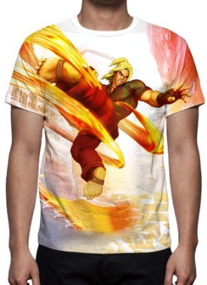 STREET FIGHTER 5 - Ken Masters - Camisetas de Games