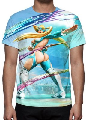 STREET FIGHTER 5 - Rainbow Mika - Camisetas de Games