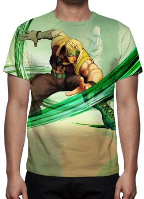 STREET FIGHTER 5 - Charlie Nash - Camiseta de Games