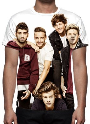 ONE DIRECTION - Modelo 1 - Camiseta de Música