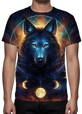 ANIMAIS - Lobo Universo - Camiseta Variada