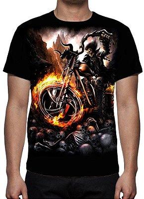REAPER MORTE - Biker From Hell - Camiseta Variada