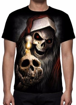 REAPER MORTE - Merry Christmas - Camiseta Variada