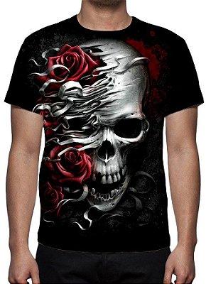 REAPER MORTE - Rosas da Morte - Camiseta Variada