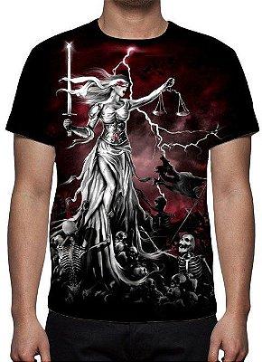 REAPER MORTE - Justiça Cega - Camiseta Variada