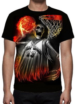 REAPER MORTE - Basqueteball - Camiseta Variada