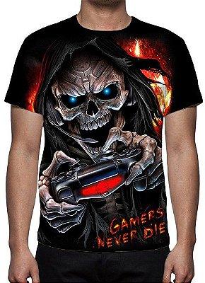 REAPER MORTE - Game Over - Camiseta Variada