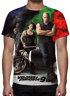 VELOZES E FURIOSOS 9 - Camiseta de Cinema