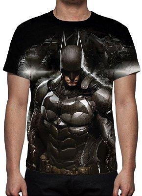 DC GAMES - Batman Arkham Knight Modelo 1 - Camiseta de Games