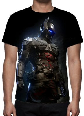 DC GAMES - Batman Arkham Knight Modelo 2 - Camiseta de Games