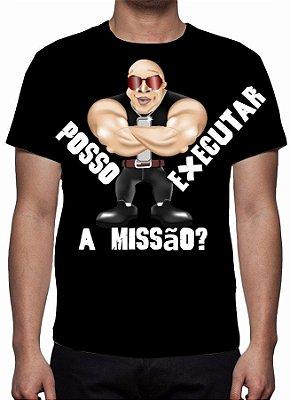 JR DUBLÊ - Posso Executar a missão ? - Camiseta de Parceiros