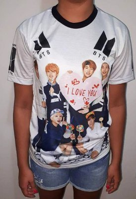 BTS Bantang Boys - I Love You - Camiseta de KPOP