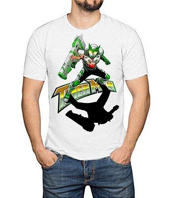 TIMERMAN - Canhão Timerbolt Branca - Camiseta de Heróis Brasileiros