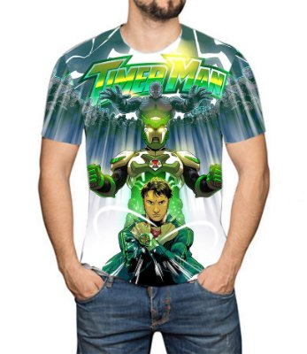 TIMERMAN - Modo Timer - Camiseta de Tokusatsu