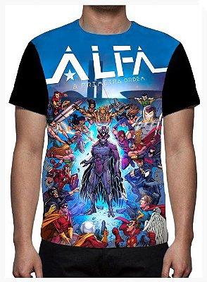 KIMERA  - Tropa Alfa Azul - Camiseta de Desenhos