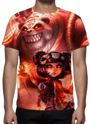 LEAGUE OF LEGENDS - Annie Panda - Camiseta de Games