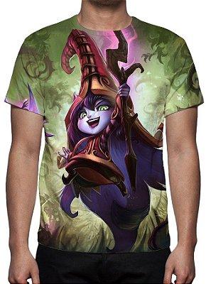 LEAGUE OF LEGENDS - Lulu Fada Feiticeira Modelo 1 - Camiseta de Games
