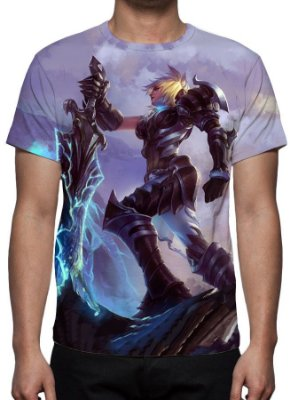 LEAGUE OF LEGENDS - Riven Campeonato - Camiseta de Games