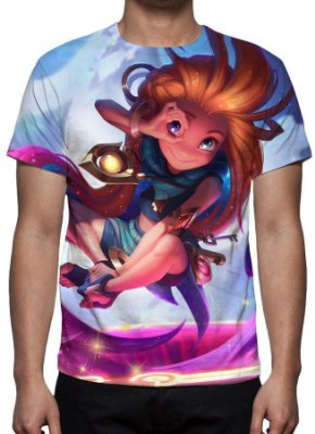 LEAGUE OF LEGENDS - Zoe - Camiseta de Games