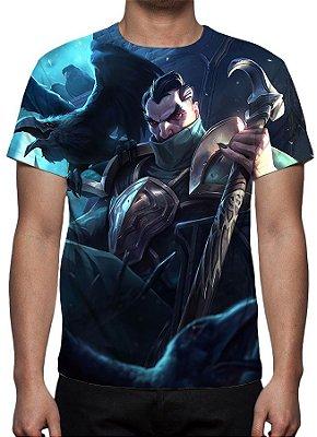 LEAGUE OF LEGENDS - Swain Mestre da Estratégia - Camiseta de Games