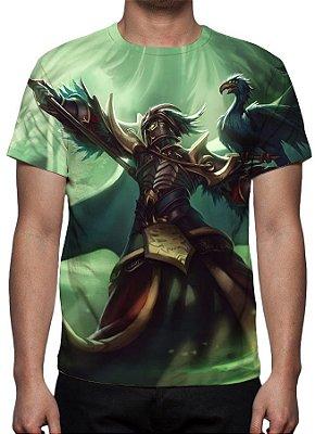 LEAGUE OF LEGENDS - Swain Tirano - Camiseta de Games