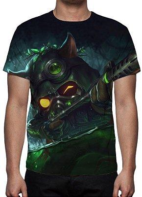 LEAGUE OF LEGENDS - Teemo Esquadrão Ômega - Camiseta de Games