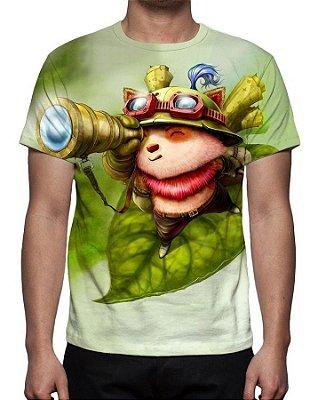 LEAGUE OF LEGENDS - Teemo Explorador Veloz - Camiseta de Games