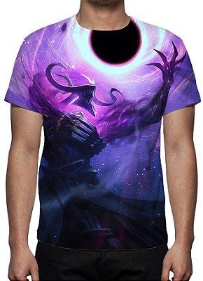 LEAGUE OF LEGENDS - Thresh Estrela Negra - Camiseta de Games