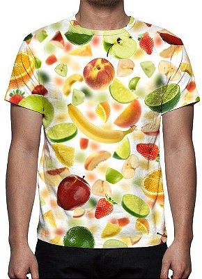 ESTAMPADAS - Salada de Frutas - Camiseta Variada