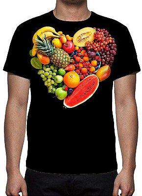 ESTAMPADAS - Eu Amo Frutas - Camiseta Variada