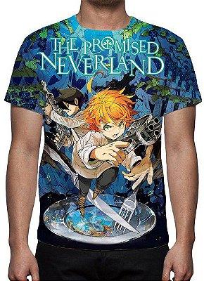 PROMISED NEVERLAND, THE - Azul - Camiseta de Animes
