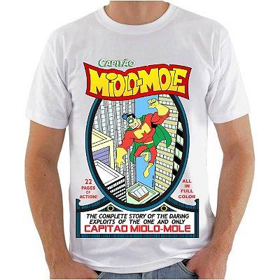 CAPITÃO MIOLO MOLE - Super - Camiseta de Quadrinhos Nacionais