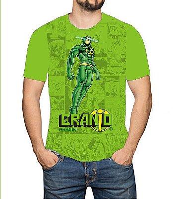 OS SE7E - Crânio - Camiseta de Heróis Brasileiros